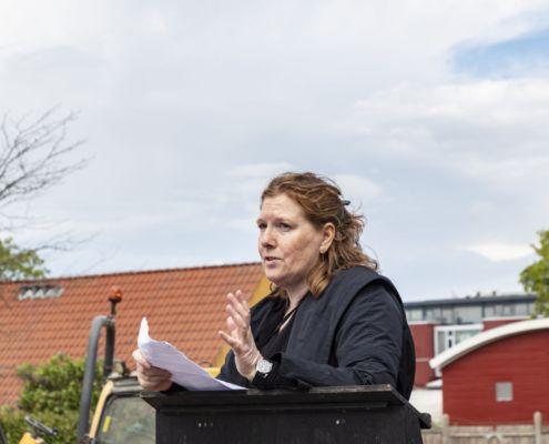 Arkitekt Bente Rørbæk. Foto: Laura Stamer