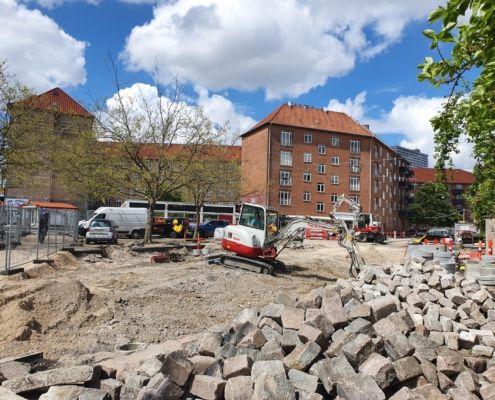 Herman Bangs Plads byggeplads