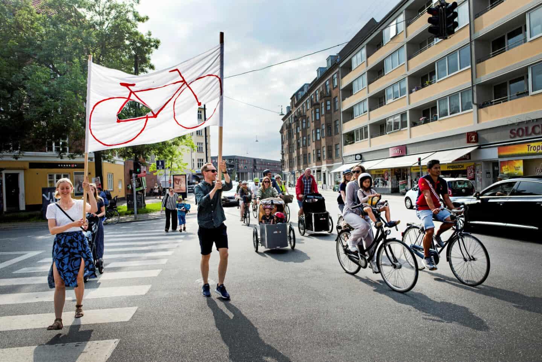 Cykeloptog Valby Langgade