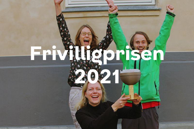 Knap forsiden Frivilligpris 2021