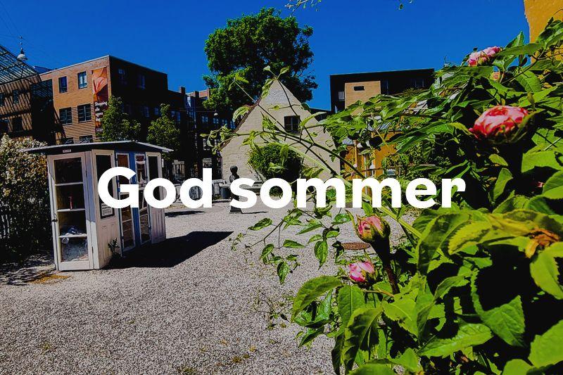 Knap forsiden god sommer