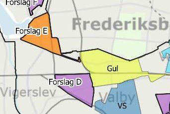 Forslag tidsbegrænsede P-zoner Valby